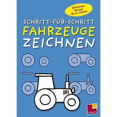 Schritt-Für-Schritt Fahrzeuge zeichnen Buch - Weltbild.de