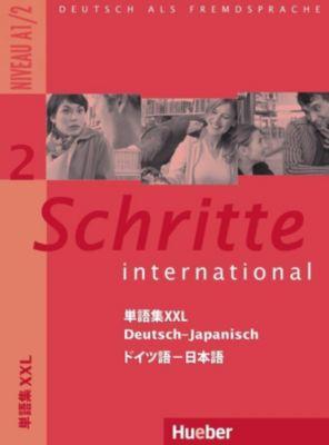 Schritte international - Deutsch als Fremdsprache: Bd.2 Glossar XXL Deutsch-Japanisch
