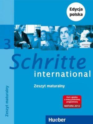 Schritte international - Deutsch als Fremdsprache: Bd.3 Zeszyt ucznia XXL