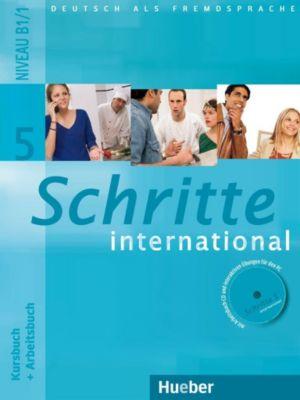 Schritte international - Deutsch als Fremdsprache: Bd.5 Kursbuch + Arbeitsbuch, m. Audio-CD/CD-ROM
