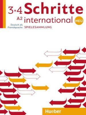 Schritte international Neu - Deutsch als Fremdsprache: Bd.3+4 Spielesammlung, Cornelia Klepsch