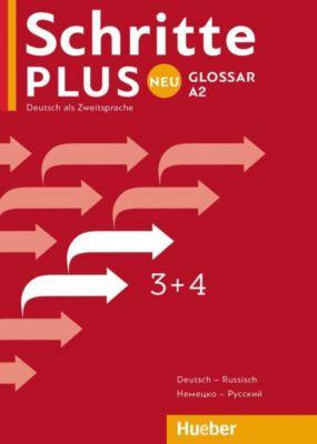 Schritte plus Neu - Deutsch als Fremdsprache / Deutsch als Zweitsprache: Bd.3+4 Glossar Deutsch-Russisch