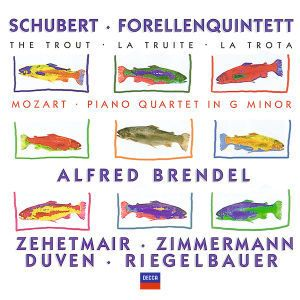 Schubert: Forellenquintett / Mozart: Piano Quartet in G minor, Brendel, Zehetmair, Zimmermann