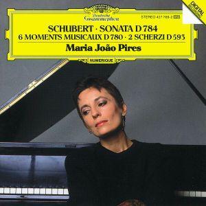 Schubert: Sonata D784, 6 Moments Musicaux D780, 2 Scherzi D593, Maria Joao Pires