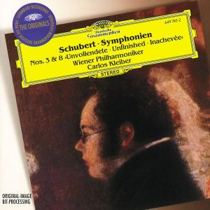 Schubert: Symphonies Nos.3 & 8 Unfinished, Carlos Kleiber, Wp