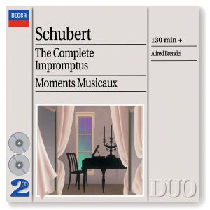 Schubert: The Complete Impromptus/Moments Musicaux, Alfred Brendel