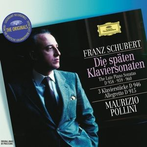 Schubert: The Late Piano Sonatas D 958, 959 & 960, 3 Piano Pieces D 946, Allegretto D 915, Maurizio Pollini