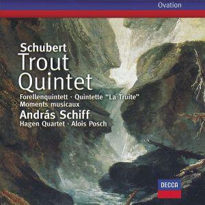 Schubert: Trout Quintet, 6 Moments musicaux, Andras Schiff, Alois Posch, Hagen Quartett