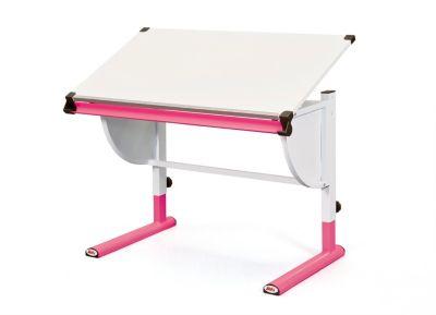 sch ler schreibtisch xirtec wei pink bestellen. Black Bedroom Furniture Sets. Home Design Ideas