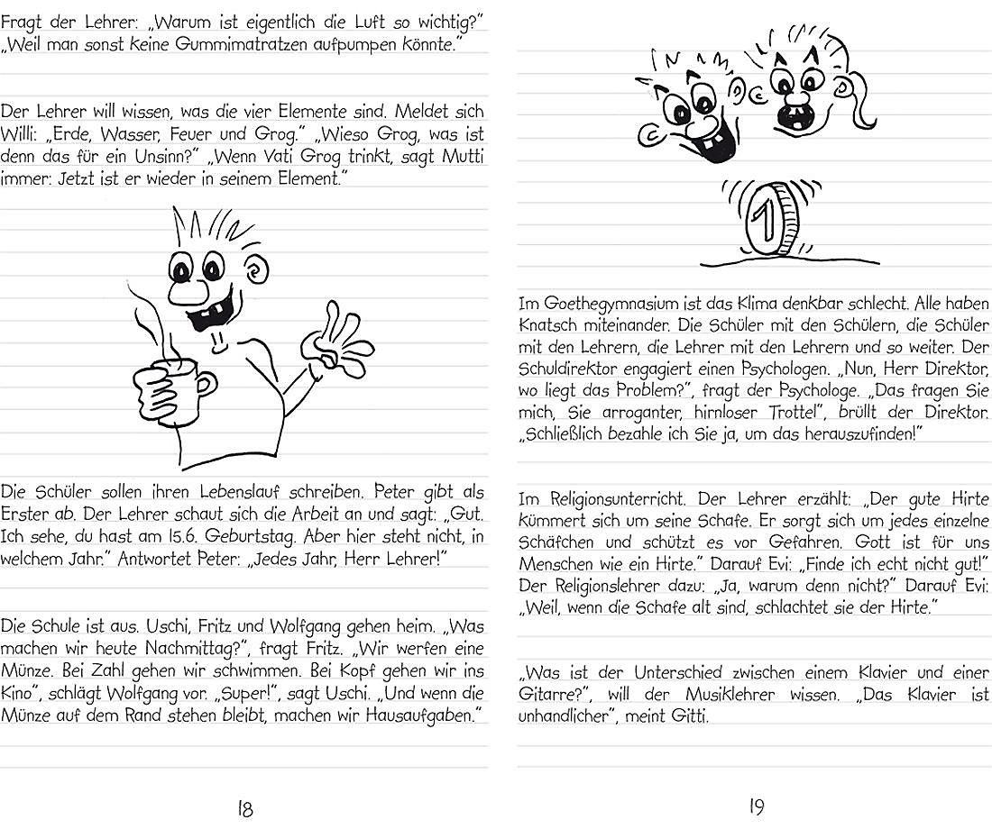 Schüler Und Lehrerwitze Buch Bei Weltbildch Online Bestellen