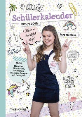 Schülerkalender 2017/2018, Faye Montana
