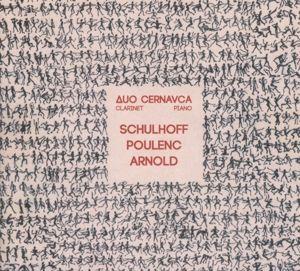 Schulhoff - Poulenc - Arnold, Duo Cernavca, S. Cernavca, Z. Tkachyk-Cernavca