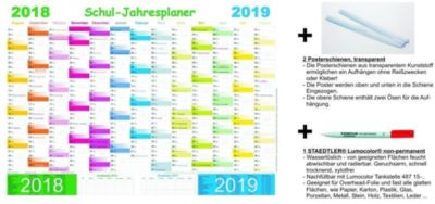 Schuljahresplaner - Set 2018/2019