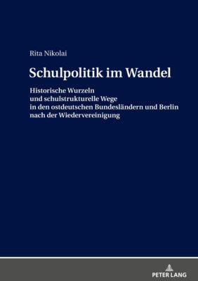 Schulpolitik im Wandel - Rita Nikolai pdf epub