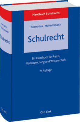 Schulrecht, Hermann Avenarius, Felix Hanschmann