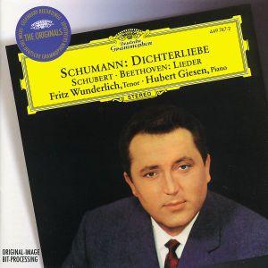 Schumann: Dichterliebe / Beethoven & Schubert: Lieder, Fritz Wunderlich, Hubert Giesen