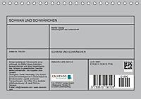 SCHWAN UND SCHWÄNCHEN (Tischkalender 2019 DIN A5 quer) - Produktdetailbild 13