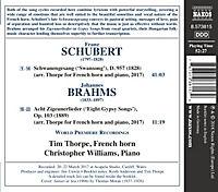 Schwanengesang (Arrangiert Für Horn Und Klavier) - Produktdetailbild 1