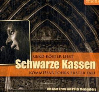 Schwarze Kassen, 3 Audio-CDs, Peter Meisenberg