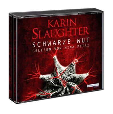 Schwarze Wut, 6 Audio-CDs, Karin Slaughter
