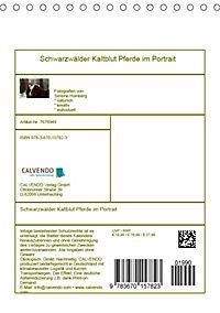 Schwarzwälder Kaltblut Pferde im Portrait (Tischkalender 2019 DIN A5 hoch) - Produktdetailbild 13