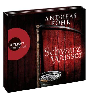 Schwarzwasser, 6 Audio-CDs, Andreas Föhr