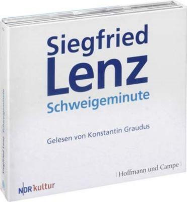 Schweigeminute, 3 Audio-CDs, Siegfried Lenz