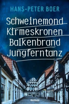 Schweinemond / Kirmeskronen / Balkenbrand / Jungferntanz, Hans Peter Boer