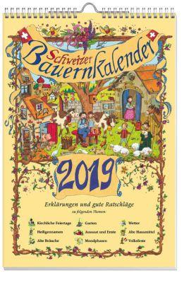 Schweizer Bauernkalender 2019 sowie Ganzjahreswandplaner
