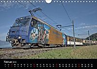 Schweizer Eisenbahn (Wandkalender 2019 DIN A4 quer) - Produktdetailbild 2
