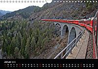 Schweizer Eisenbahn (Wandkalender 2019 DIN A4 quer) - Produktdetailbild 1