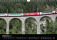 Schweizer Eisenbahn (Wandkalender 2019 DIN A4 quer) - Produktdetailbild 9