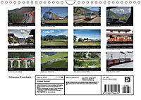 Schweizer Eisenbahn (Wandkalender 2019 DIN A4 quer) - Produktdetailbild 13