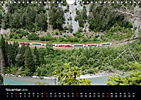 Schweizer Eisenbahn (Wandkalender 2019 DIN A4 quer) - Produktdetailbild 11