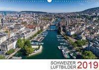 Schweizer Luftbilder 2019 (Wandkalender 2019 DIN A3 quer), k.A. Luftbilderschweiz.ch