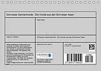 Schweizer Sennenhunde - die Hunde aus den Schweizer Alpen (Tischkalender 2019 DIN A5 quer) - Produktdetailbild 13