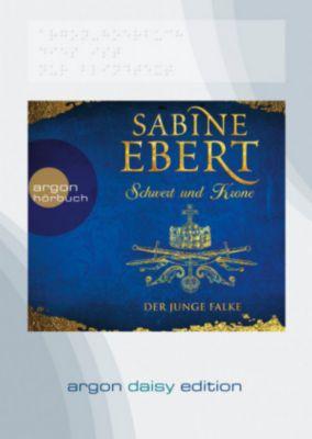 Schwert und Krone - Der junge Falke, 1 MP3-CD (DAISY Edition), Sabine Ebert