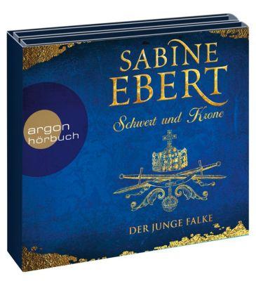 Schwert und Krone - Der junge Falke, 8 Audio-CD, Sabine Ebert