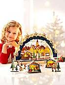 """Schwibbogen """"Weihnachtsmarkt"""""""