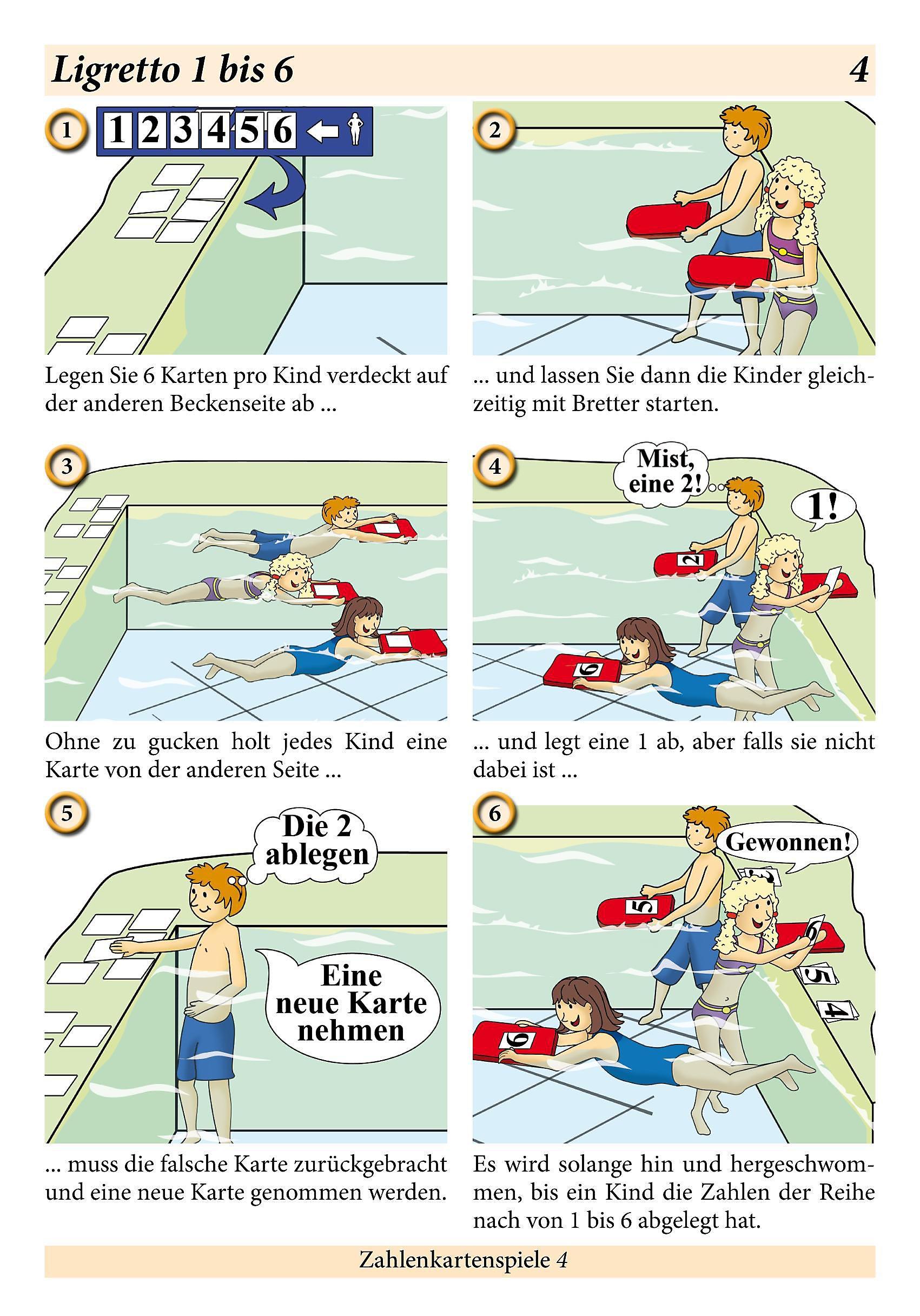 schwimmen lernen 3 pool nudel co laminiert oder unlaminiert spielen lernen mit kindern