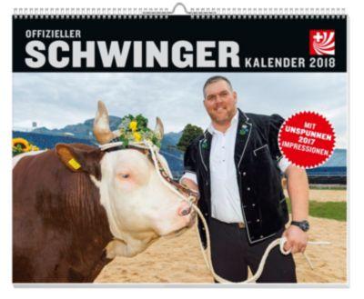 Schwingen Kalender 2018 - Unspunnenfest 2017