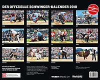 Schwingen Kalender 2018 - Unspunnenfest 2017 - Produktdetailbild 1