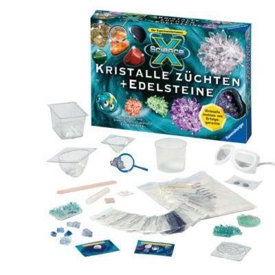 ScienceX Kristalle züchten + Edelsteine (Experimentierkasten)