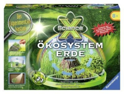 ScienceX Ökosystem Erde (Experimentierkasten)