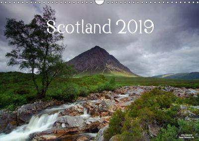 Scotland 2019 (Wall Calendar 2019 DIN A3 Landscape), Jörg Dauerer