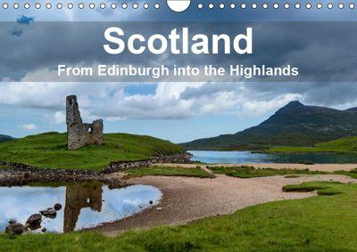 Scotland - From Edinburgh into the Highlands (Wall Calendar 2019 DIN A4 Landscape), Frank Gärtner