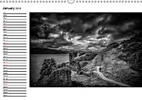 Scotland in Black and White (Wall Calendar 2019 DIN A3 Landscape) - Produktdetailbild 1