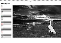 Scotland in Black and White (Wall Calendar 2019 DIN A3 Landscape) - Produktdetailbild 2