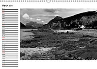 Scotland in Black and White (Wall Calendar 2019 DIN A3 Landscape) - Produktdetailbild 3