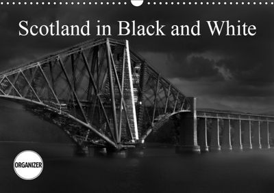 Scotland in Black and White (Wall Calendar 2019 DIN A3 Landscape), Alain Gaymard